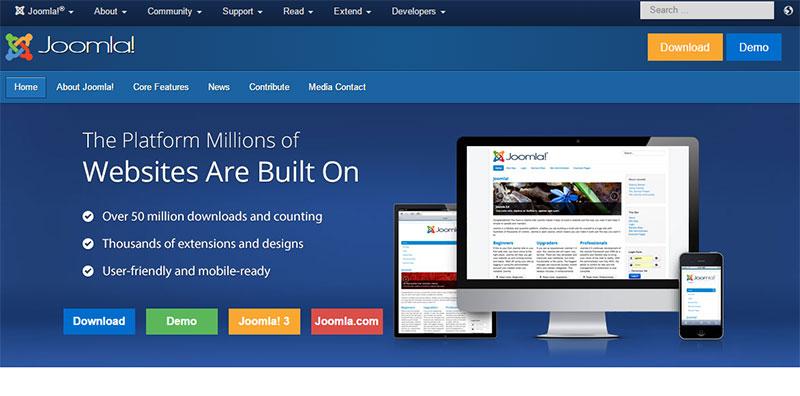 چه زمانی جوملا برای طراحی سایت شما مناسب است؟ - طراحی وب سایت دارکوبطراحی سایت با جوملا