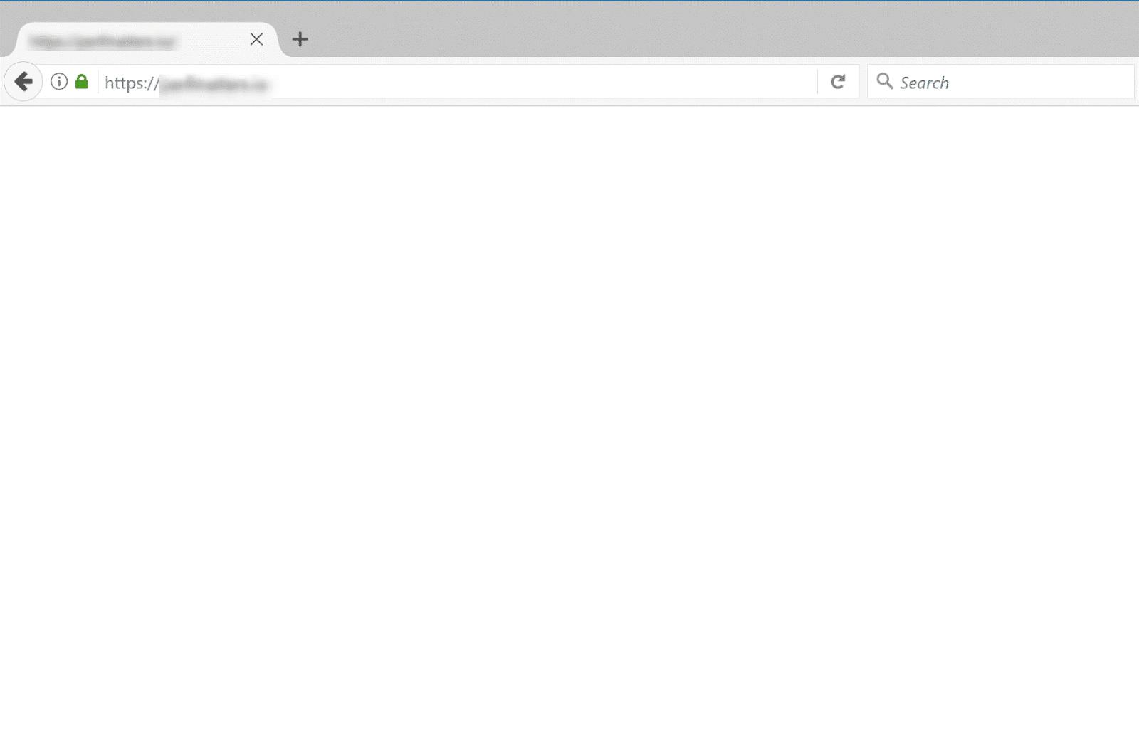 ارور صفحه سفید در مرورگر موزیلا فایرفاکس